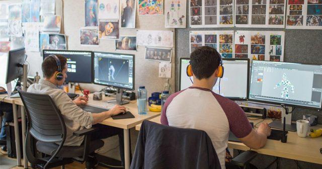 Deutsche Spiele-Entwickler - hier Goodgame Studios in Hamburg - werben mit flexibler Arbeitszeit-Einteilung innerhalb von Kernzeiten (Foto: Goodgame Studios)