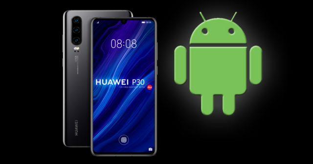 Für bereits produzierte Smartphones wie das Huawei P30 wird Google noch Android-Updates bereitstellen - für künftige Smartphone-Generationen gilt das nicht (Abbildungen: Huawei / Google)