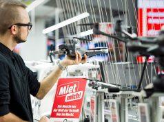 """Digitalkameras, Drohnen, VR-Brillen: MediaMarkt weitet den Mietservice """"Miet mich"""" auf alle Fillialen aus (Foto: MediaMarkt Saturn Unternehmenskommunikation)"""
