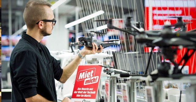 Digitalkameras, Drohnen, VR-Brillen: MediaMarkt weitet den Mietservice