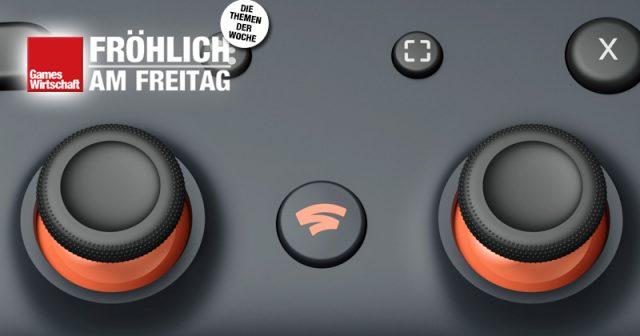 Der Stadia-Controller ist zwingende Voraussetzung für den Betrieb von Stadia am TV-Gerät (Abbildung: Google)