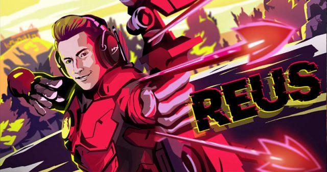 We're all Gamers: Nationalspieler Marco Reus wirbt für den Gaming-Peripherie-Produzenten HyperX (Abbildung: HyperX)