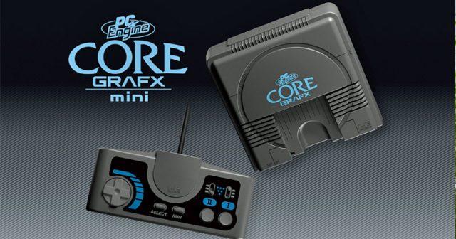 Klein, aber oho: Der PC Engine Core Grafx Mini von Konami passt bequem in eine Handfläche (Abbildung: Konami)