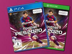 """Mit dem FC Barcelona holte Lionel Messi seine zehnte Meisterschaft - in diesem Jahr ist er Cover-Star von """"eFootball PES 2020"""" (Abbildung: Konami)"""