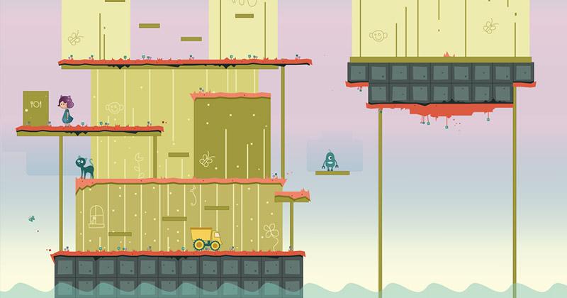"""Melanie Taylors aktuelles Projekt: Mit """"Blueberry"""" entsteht ein Puzzle-Plattformer (Abbildung: Mellow Games)"""