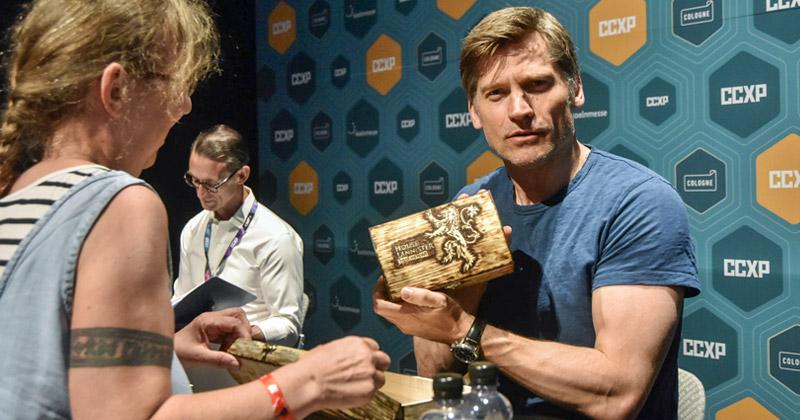 """CCXP Cologne 2019: Bis zu 100 Euro wurden für Fotos und Autogramme mit Stars wie Nicolaj Coster-Waldau (""""Game of Thrones"""") fällig - Foto: KoelnMesse / Thomas Klerx"""