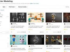 3D-Animationen zum Discount-Preis: Das Freelancer-Portal Fiverr startet eine eigene Gaming-Rubrik (Screenshot)
