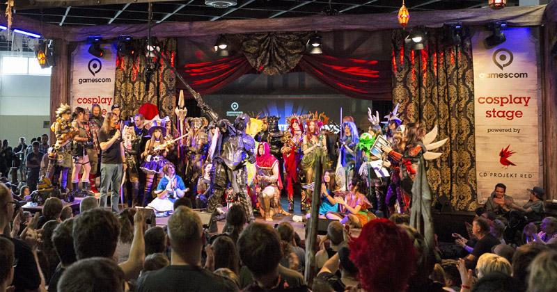 Das Cosplay Village samt Cosplay Stage zieht zur Gamescom 2019 in die Halle 5.2 (Foto: KoelnMesse / Maxi Uellendahl)
