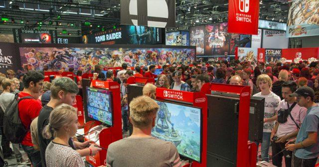 Was zeigt Nintendo auf der Gamescom 2019? Die Spiele-Liste wächst täglich um neue Einträge (Foto: KoelnMesse / Harald Fleissner)