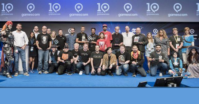 Für den Gamescom Award 2019 (im Bild: die Vorjahres-Sieger) gelten neue Spielregeln - Foto: KoelnMesse / Oliver Wachenfeld