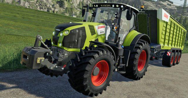 Traktoren und Gerätschaften aus dem CLAAS-Sortiment stehen im Mittelpunkt der Landwirtschafts-Simulator 19 Platinum Edition (Abbildung: GIANTS Software)