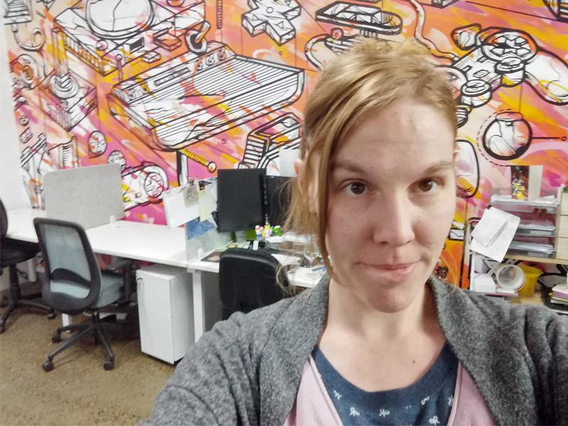 Volle Konzentration: Seit 2018 lebt und arbeitet Melanie Taylor in der 2,5-Millionen-Metropole Brisbane an der Ostküste Australiens (Foto: privat)