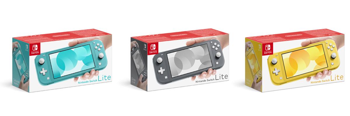 Mit einem Preis von vorauss. 200 bis 220 Euro liegt die Nintendo Switch Lite zwischen 3DS XL und Nintendo Switch (Abbildungen: Nintendo)