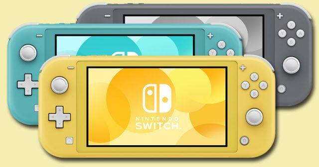 Grau, Türkis oder Gelb? Die neue Nintendo Switch Lite ist ab 20. September in drei Farben erhältlich (Abbildung: Nintendo)