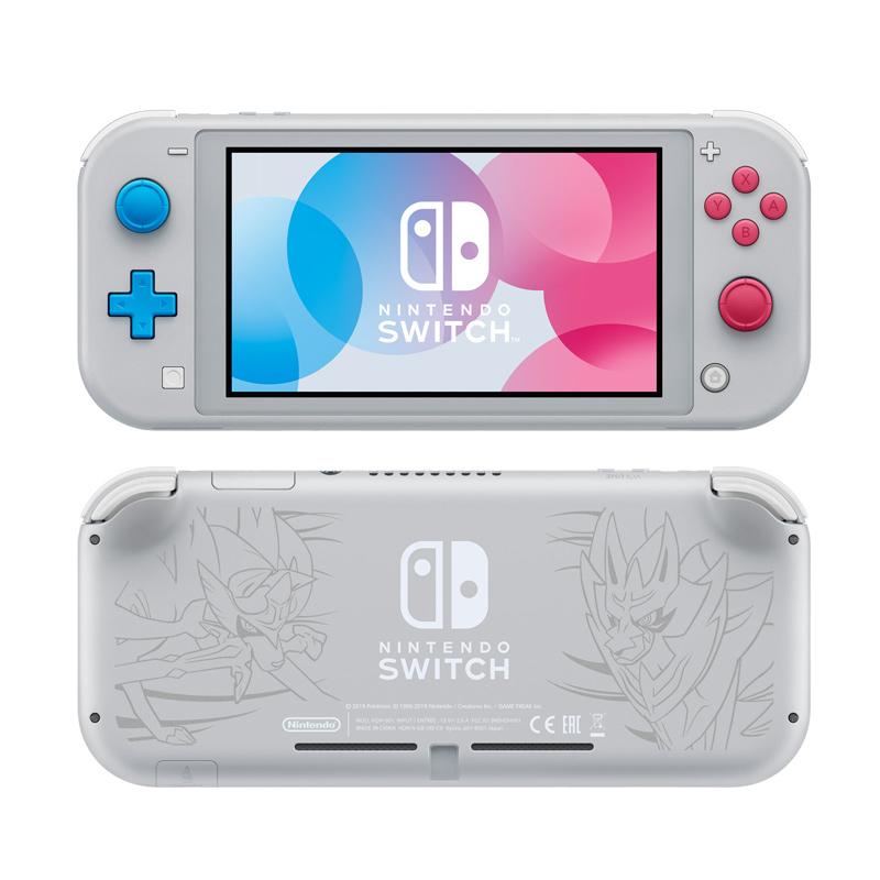 "Das Sondermodell ""Nintendo Switch Lite Zachian & Zamamenta Edition"" erscheint am 8. November - Preis: noch offen (Abbildung: Nintendo)"