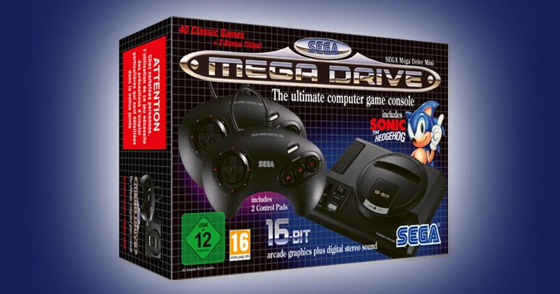 Seit dem 4. Oktober 2019 auf dem Markt: das SEGA Mega Drive Mini (Abbildung: SEGA)