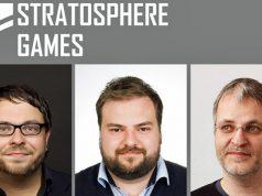 Stratostphere-Games-CEO Kristian Metzger verpflichtet Daniell Ullrich als COO und Teut Weidemann als Creative Director (von links - Abbildung: Stratosphere Games)