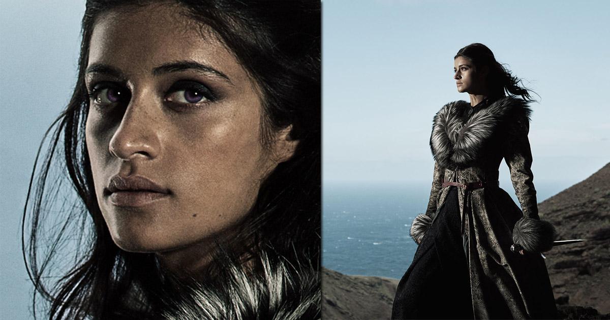 """Netflix-Serie """"The Witcher"""": Anya Chalotra spielt die Rolle der Yennefer (Abbildungen: Netflix)"""