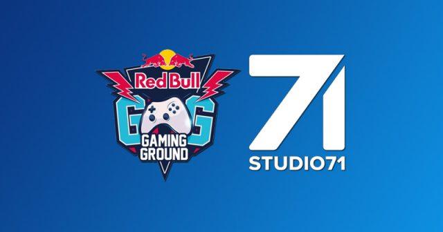 Auf dem Red Bull Gaming Ground im Gamescom-Außenbereich eröffnet Studio71 den Creator Club (Abbildungen: Red Bull, Studio71)