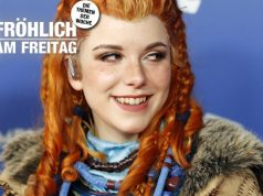 "Cosplayerinnen wie Elli (hier als ""Horizon: Zero Dawn""-Heldin Aloy beim DCP 2019) dokumentieren den Wandel in der Games-Industrie (Foto: Getty Images / Franziska Krug für Quinke Networks)"