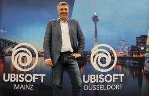 Managing Director Benedikt Grindel peilt für die drei deutschen Ubisoft-Studios mehr als 1.000 Mitarbeiter bis 2023 an (Foto: GamesWirtschaft)
