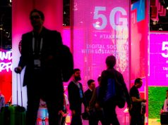 Der neue Mobilfunk-Standard 5G ist ein Schwerpunkt auf dem IFA-2019-Stand der Telekom (Foto: Deutsche Telekom)
