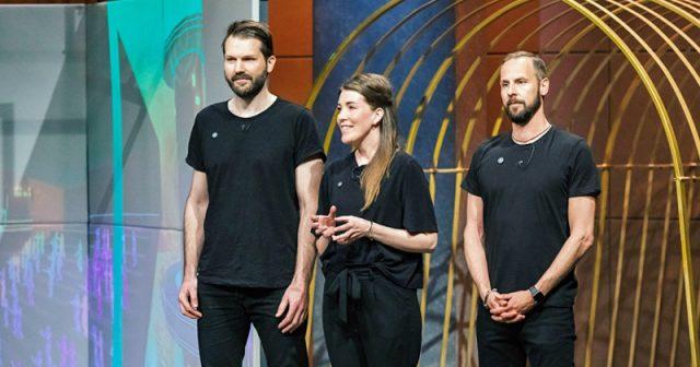 Die drei Schweizer Gründer von Sphery stellen den Exercube in