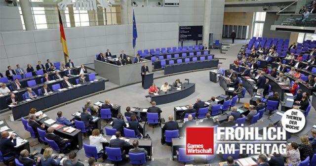 AfD-Politiker und Haushaltsausschuss-Vorsitzender Peter Boehringer bei einer Rede im Plenersaal (Foto: Deutscher Bundestag / Thomas Köhler / photothek.net)
