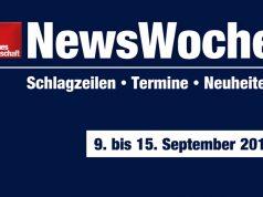 GamesWirtschaft NewsWoche: Schlagzeilen, Termine, Neuheiten der Kalenderwoche 37 (9. bis 15. September)