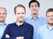Die InnoGames-Geschäftsführung ab 1. Oktober: Christian Pern, Hendrik Klindworth (CEO), Armin Busen und Michael Zillmer (Foto: InnoGames GmbH)