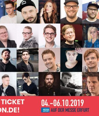 Diese und viele weiter Letsplayer, Streamer, Cosplayer und YouTuber sind auf der MAG 2019 in Erfurt dabei (Abbildung: Veranstalter)