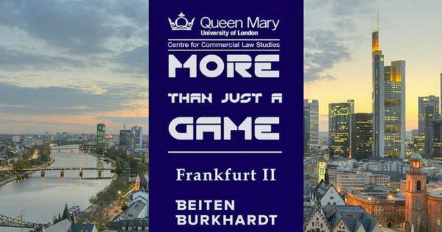 Frankfurt ist Austragungsort der Fachkonferenz More Than Just A Game 2019 (Abbildung: Beiten Burkhardt)