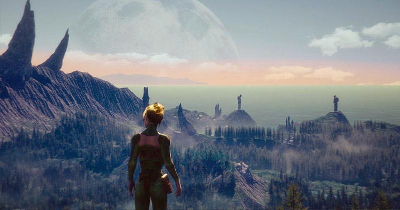 """ARD-Spielfilm """"PLAY"""": Die (fiktive) VR-Spielwelt """"Avalonia"""" ist der Zufluchts-Ort der Protagonistin (BR / ARD Degeto / Alexander Fischerkoesen)"""