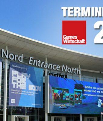 Messen, Events, Konferenzen: Der GamesWirtschaft Terminkalender 2020 listet die wichtigsten Branchen-Ereignisse der Saison 2020.
