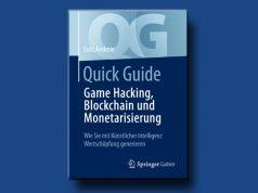 """Das Fachbuch """"Game Hacking, Blockchain und Monetarisierung"""" von Lutz Anderie erscheint im Februar 2020 (Abbildung: Springer Gabler)"""