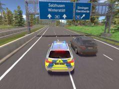 """Die Entwicklung des """"Autobahnpolizei-Simulator 3"""" (hier eine Szene aus Teil 2) wird vom Verkehrsministerium subventioniert (Abbildung: Aerosoft)"""