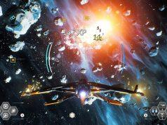 """Szene aus """"Everspace 2"""": An dem Weltraum-Actionspiel arbeiten allein bei Rockfish Games mehr als 20 Mitarbeiter (Abbildung: Rockfish)"""