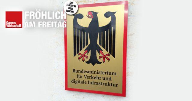 Das Bundesministerium für Verkehr und Digitale Infrastruktur (BMVI) ist auch für die deutsche Computerspielbranche zuständig (Foto: GamesWirtschaft)
