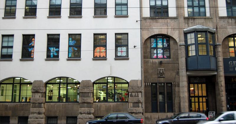 Die Games Academy Frankfurt verlässt 2020 die Räumlichkeiten in der Hanauer Landstraße (Foto: Games Academy)