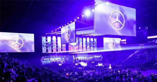 Mercedes-Benz ist Hauptsponsor der ESL One Hamburg 2019 (Foto: Daimler AG)