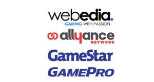 Zu Webedia Gaming gehören unter anderem das Allyance Network, GameStar und GamePro (Abbildungen: Webedia)