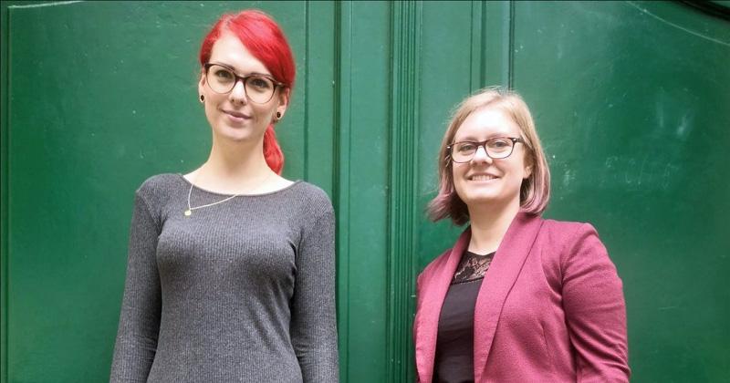Neu im Team der Booster Space GmbH: Madeleine Egger (Sales) und Caroline Flesch (Projektmanagerin) - Foto: Booster Space