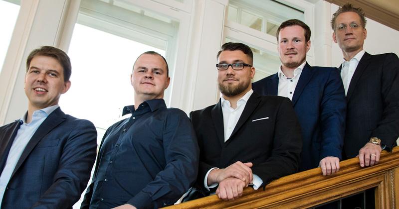 Fabian Laugwitz, Martin Müller und Hans Jagnow kandidieren erneut für das ESBD-Präsidium - Niklas Timmermann und Jan Pommer treten nicht mehr an (Foto: ESBD / Maria Manneck)