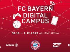 """Am 13. Bundesliga-Spieltag startet der Rekordmeister den """"FC Bayern Digital Campus"""" (Abbildung: FCB AG)"""