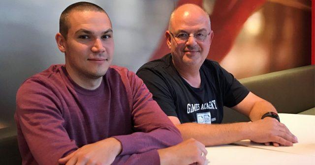 Felix Ising (links) führt zusätzlich zur Mediadesign Hochschule auch die Geschäfte der Games Academy. Thomas Dlugaiczyk bleibt Rektor (Foto: Games Academy)