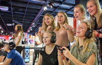 Gamescom 2019: Mehr als 100.000 der 341.000 Privatbesucher sind Mädchen und Frauen (Foto: KoelnMesse / Maxi Uellendahl)
