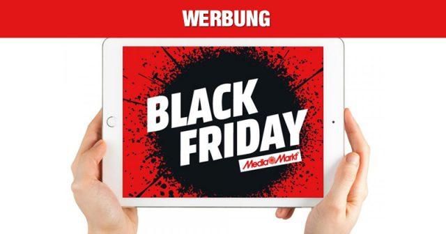Die MediaMarkt-Angebote zum Black Friday 2019 werden bereits am 28.11. ab 20 Uhr freigeschaltet (Abbildung: MediaMarkt-Saturn)