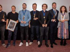 Die Preisträger des NextReality Awards 2019 bei der Verleihung am 6.11. (Foto: Martina van Kann)