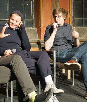 """Abschluss der diesjährigen """"Quartett der Spielekultur""""-Tournee am 11.11.2019 in Hannover (Foto: Stiftung Digitale Spielekultur)"""