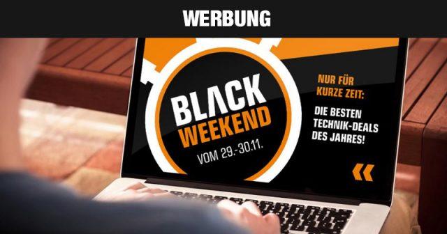 Die Angebote des Saturn Black Weekend 2019 gelten in den Filialen und im Online-Shop (Abbildung: MediaMarkt Saturn)